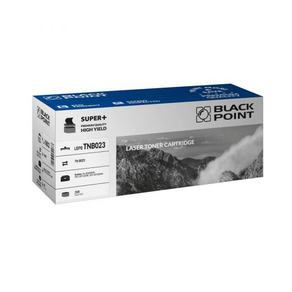 materiały eksploatacyjne 3 alibiuro.pl LBPBTNB023 Toner BP S Brother TNB 023 BlackPoint LBPBTNB023 BLBTNB023BCBW 87