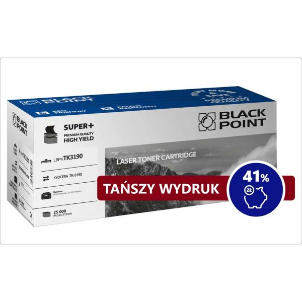 materiały eksploatacyjne 3 alibiuro.pl LBPKTK3190 Toner BP S TK 3190 BlackPoint LBPKTK3190 BLKYOTK3190BCBW 94