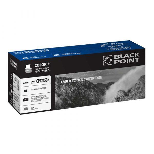 materiały eksploatacyjne 3 alibiuro.pl LCBPHCP1215BK Toner BP HP CB540A BlackPoint LCBPHCP1215BK BLH1215BKBW 82