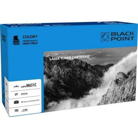 materiały eksploatacyjne 3 alibiuro.pl LCBPHM651C Toner BP HP CF331A BlackPoint LCBPHM651C BLH651CYBW 47