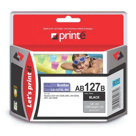 materiały eksploatacyjne 3 alibiuro.pl Printe ink AB127B Brother LC127XLBK Printe AB127B FVAPRBAB27B 58