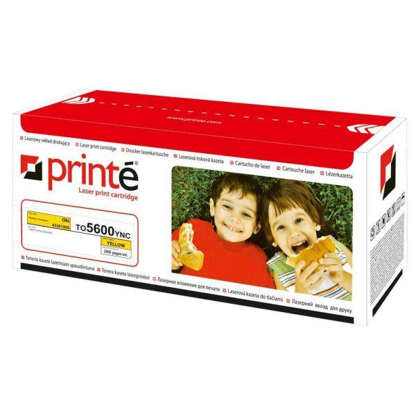 materiały eksploatacyjne 3 alibiuro.pl Printe toner TO5600YNC Oki 43381905 Printe TO5600YNC FCPPRT056YN 3