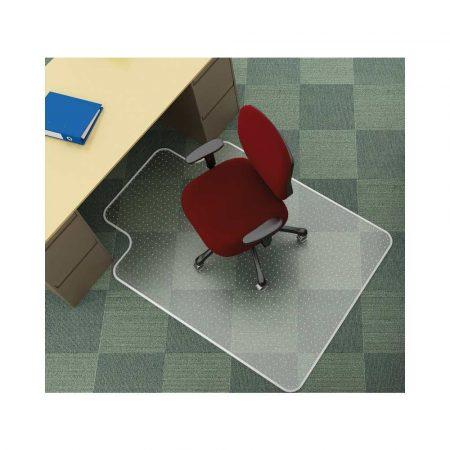 maty pod krzesła 4 alibiuro.pl Mata pod krzesło Q CONNECT na dywany 134x115cm kształt T 29