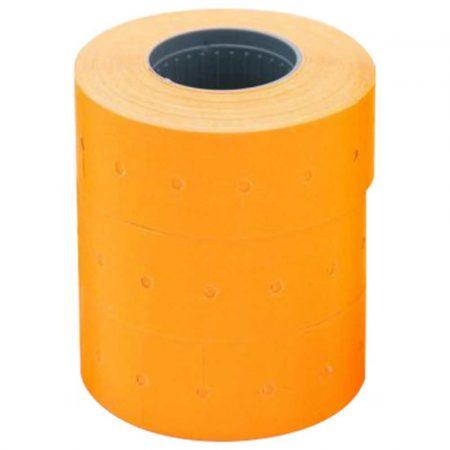 metkownica dwurzędowa 4 alibiuro.pl Etykiety do metkownicy dwurzędowej fala permanentne 26x16mm APLI pomarańczowe 1000 szt. 6 rolek 9