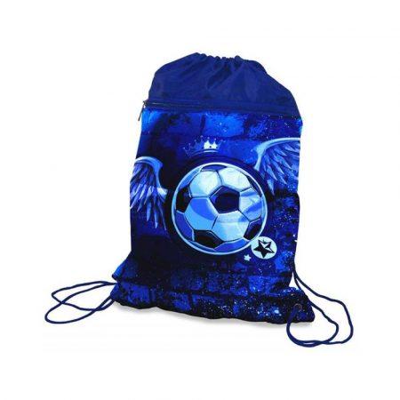 metkownica jednorzędowa 4 alibiuro.pl Worek szkolny DONAU Soccer Style 42x32cm niebieski 49
