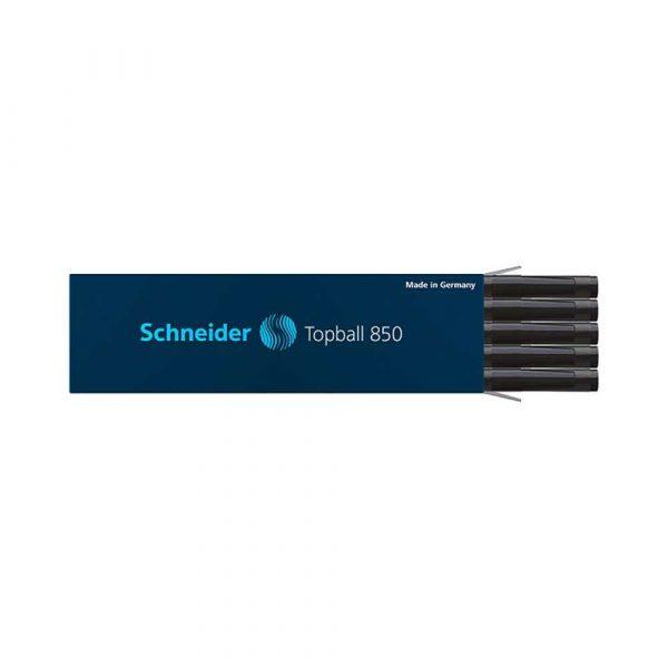 naboje do piór 4 alibiuro.pl Wkład do pióra kulkowego SCHNEIDER Topball 850 0 5 mm czarny 45