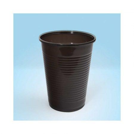 naczynia jednorazowe 4 alibiuro.pl Kubek plastikowy OFFICE PRODUCTS termiczny 200ml 100 szt. brązowy 53