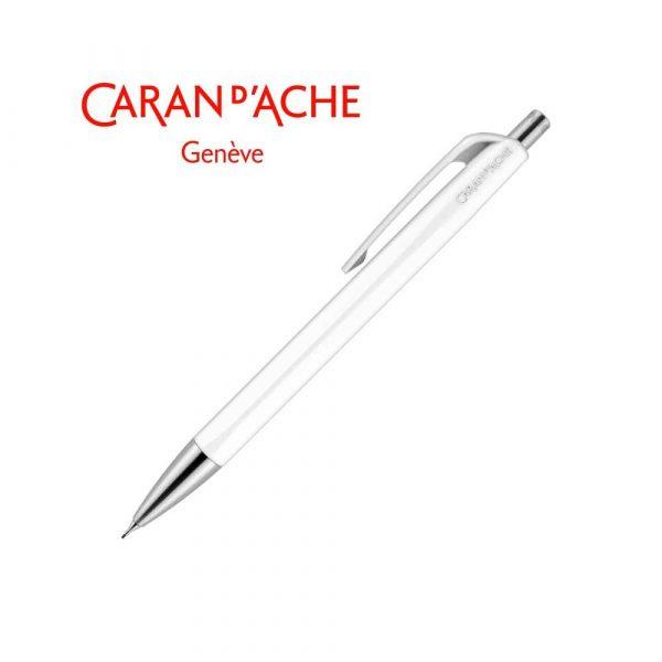 ołówek drewniany 4 alibiuro.pl Ołówek automatyczny CARAN D Inch ACHE 884 Infinite biały 87