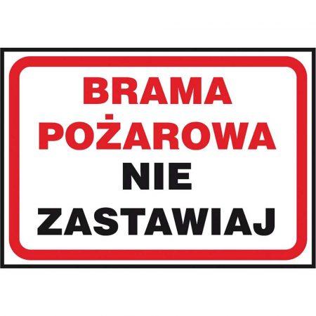 ochrona PPOŻ i bezpieczeństwo ruchu 2 alibiuro.pl ZNAK BEZPIECZEŃSTWA Z 42P PT 250x350 25