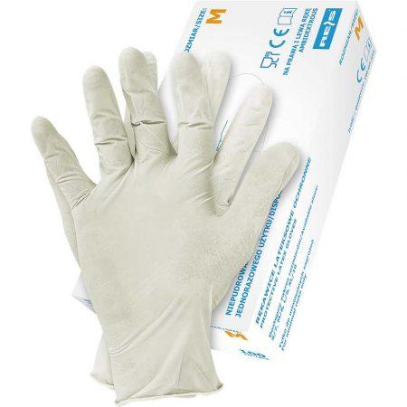 ochrona rąk 2 alibiuro.pl RĘKAWICE LATEKSOWE RALATEX(22)XL 6