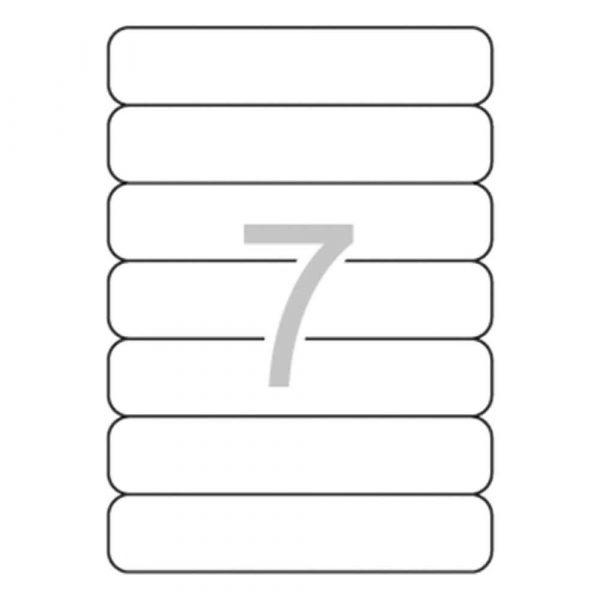 organizacja dokumentów 4 alibiuro.pl Etykiety samoprzylepne do segregatora APLI 38x190mm 175szt. białe 5