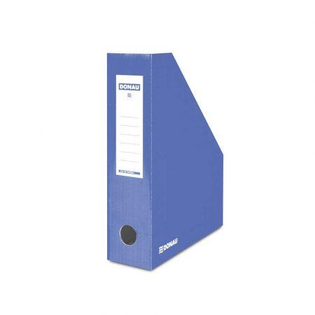 organizacja dokumentów 4 alibiuro.pl Pojemnik na dokumenty DONAU karton ścięty A4 80mm lakierowany niebieski 4