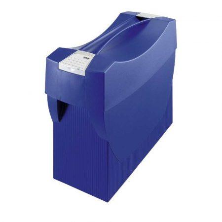 organizacja dokumentów 4 alibiuro.pl Pojemnik na teczki zawieszkowe HAN Swing Plus polistyren A4 z wiekiem niebieski 43