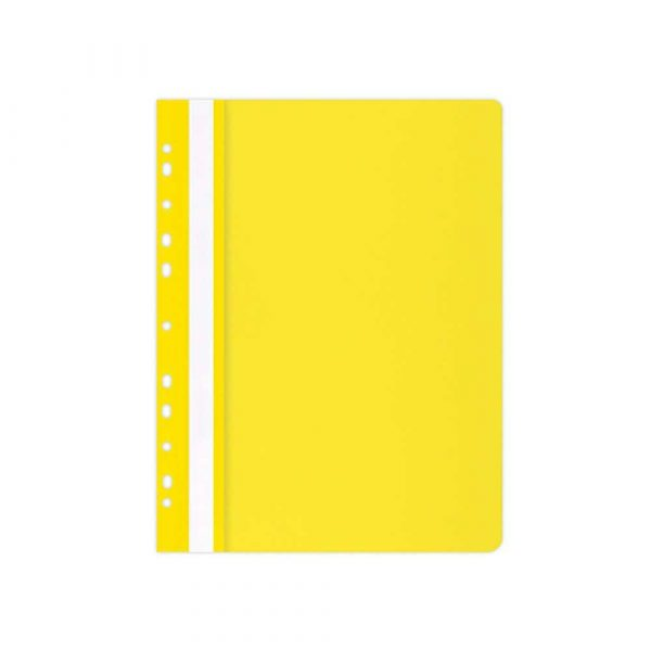 organizacja dokumentów 4 alibiuro.pl Skoroszyt OFFICE PRODUCTS PP A4 miękki 100 170mikr. wpinany żółty 0