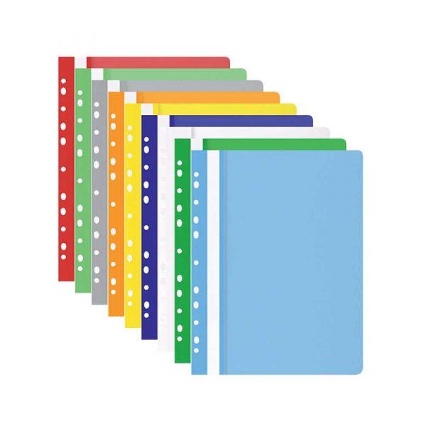 organizacja dokumentów 4 alibiuro.pl Skoroszyt OFFICE PRODUCTS PP A4 miękki 100 170mikr. wpinany jasnoniebieski 64