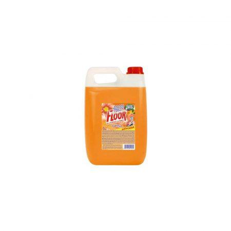 płyny do podłóg 1 alibiuro.pl Płyn do mycia podłóg Pomarańczowy 5L Floor 68