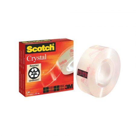 pakowanie i wysyłka 4 alibiuro.pl Taśma biurowa SCOTCH Crystal Clear 600 transparentna 19mm 33m w pudełku 6