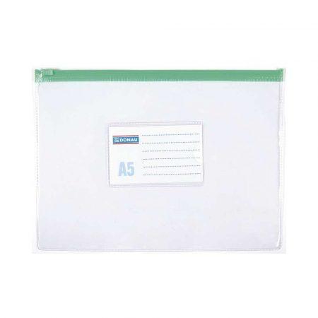 pakowanie i wysyłka 4 alibiuro.pl Torebka z suwakiem DONAU PVC A5 transparentna 85