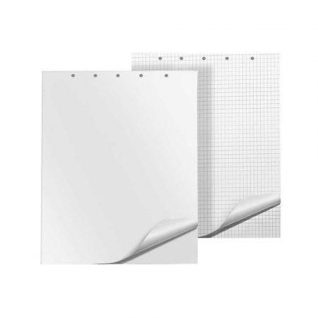 papier do flipchartów 4 alibiuro.pl Blok do flipchartów Q CONNECT gładki 65x100cm 50 kart. biały 44