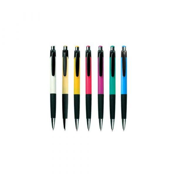 pióra żelowe 1 alibiuro.pl Długopis COLOMBO A01.2046 AH505 MPM niebieski 17