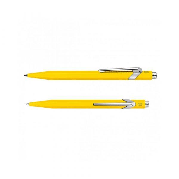 pióra żelowe 4 alibiuro.pl Długopis CARAN D Inch ACHE 849 Classic Line M żółty 82