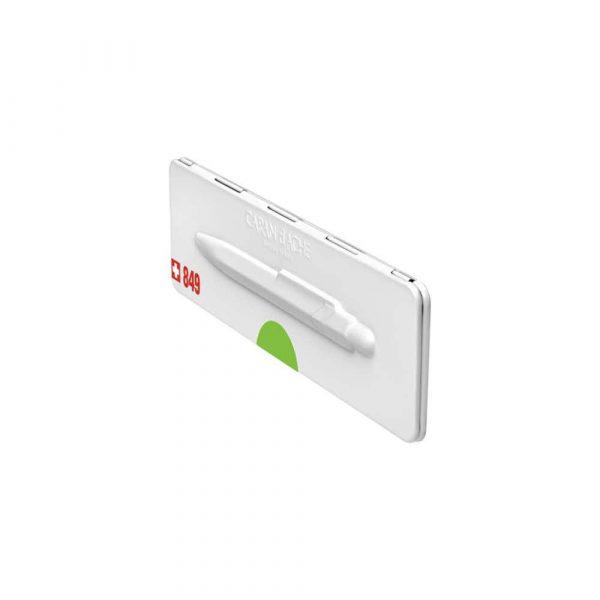 pióra żelowe 4 alibiuro.pl Długopis CARAN D Inch ACHE 849 Pop Line Fluo M w pudełku zielony 75