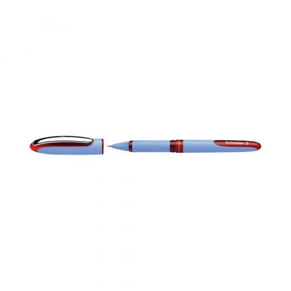 pióra kulkowe 4 alibiuro.pl Pióro kulkowe SCHNEIDER One Hybrid N 0 5 mm czerwony 37