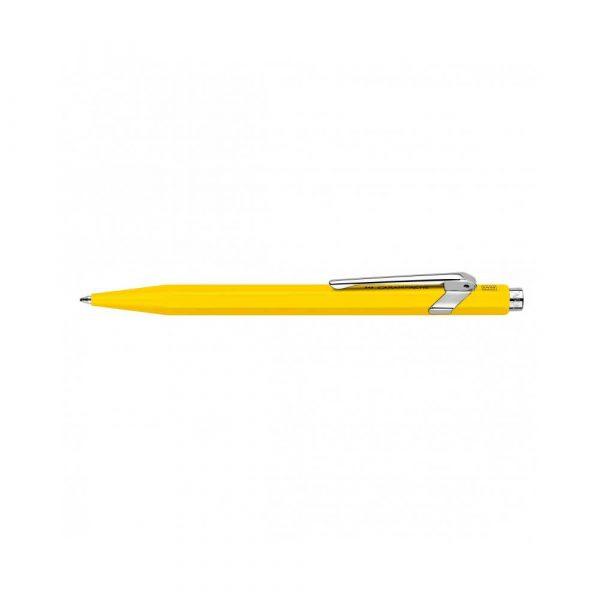 pióro żelowe 4 alibiuro.pl Długopis CARAN D Inch ACHE 849 Classic Line M żółty 78