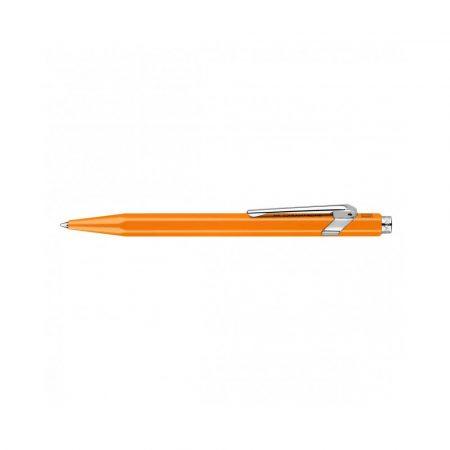 pióro żelowe 4 alibiuro.pl Długopis CARAN D Inch ACHE 849 Line Fluo M pomorańczowy 71