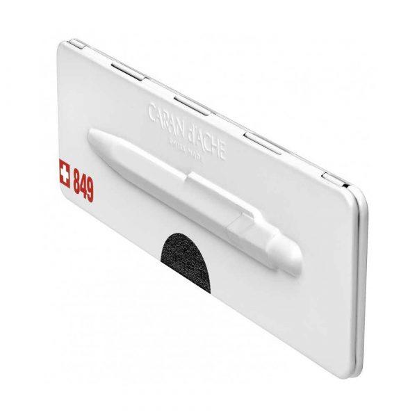 pióro żelowe 4 alibiuro.pl Długopis CARAN D Inch ACHE 849 Pop Line Metal X M w pudełku czarny 6