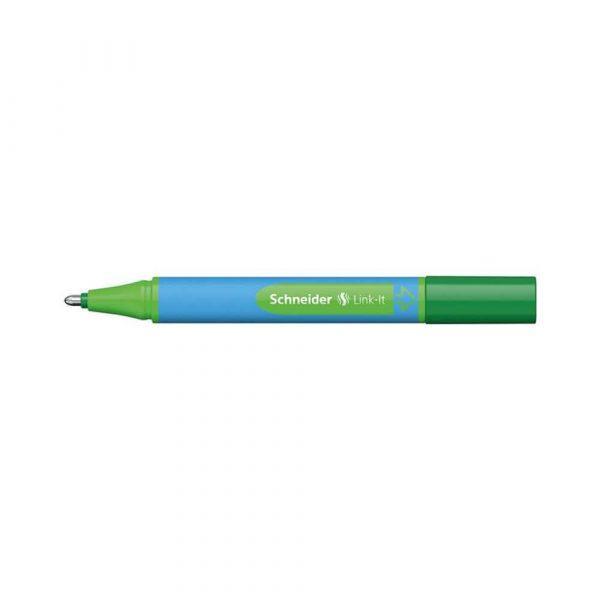pióro żelowe 4 alibiuro.pl Długopis SCHNEIDER Link It Slider XB zielony 28