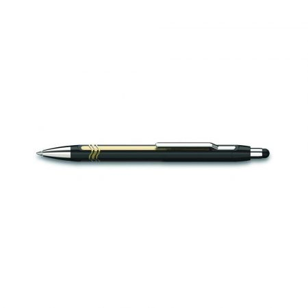 pióro żelowe 4 alibiuro.pl Długopis automatyczny SCHNEIDER Epsilon Touch XB czarny złoty 61