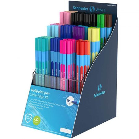 pióro żelowe 4 alibiuro.pl Display długopisów SCHNEIDER Slider Edge Pastel XB 120 szt. mix kolorów 44