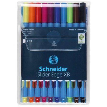pióro żelowe 4 alibiuro.pl Zestaw długopisów w etui SCHNEIDER Slider Edge XB 10 szt. miks kolorów 86