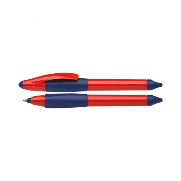 pióro kulkowe 4 alibiuro.pl Pióro kulkowe SCHNEIDER Base Ball M niebieski czerwony 16