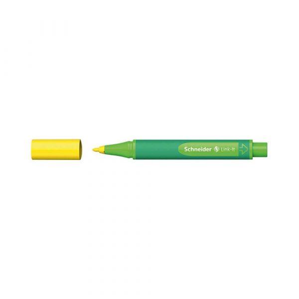pisak 4 alibiuro.pl Flamaster SCHNEIDER Link It 1 0mm żółty 16