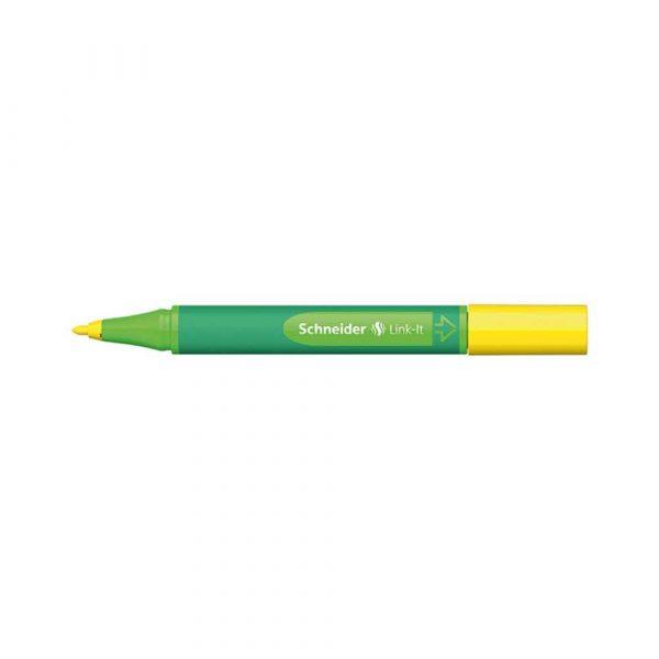 pisaki 4 alibiuro.pl Flamaster SCHNEIDER Link It 1 0mm żółty 65