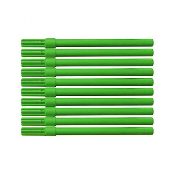 pisaki 4 alibiuro.pl Flamaster biurowy OFFICE PRODUCTS 10szt. zielony 43