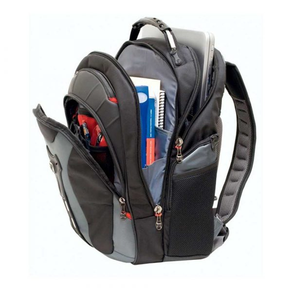 plecaki komputerowe 4 alibiuro.pl Plecak WENGER Pegasus 17 Inch 370x480x240mm szary 4