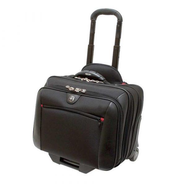 plecaki komputerowe 4 alibiuro.pl Torba pilotka WENGER Potomac 17 Inch 440x420x250mm czarna 74