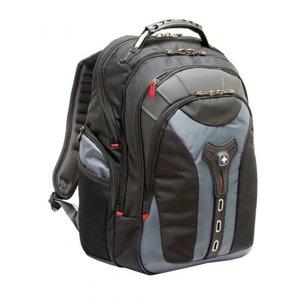 plecaki na komputery 4 alibiuro.pl Plecak WENGER Pegasus 17 Inch 370x480x240mm szary 64