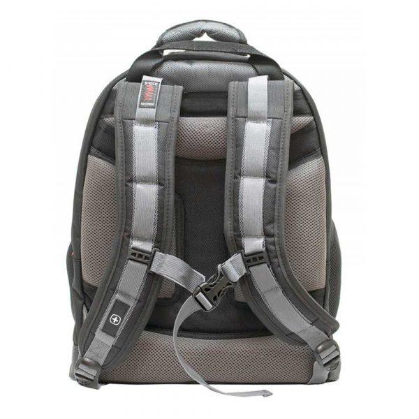 plecaki na komputery 4 alibiuro.pl Plecak WENGER Synergy 16 Inch 360x460x260mm czarny szary 80