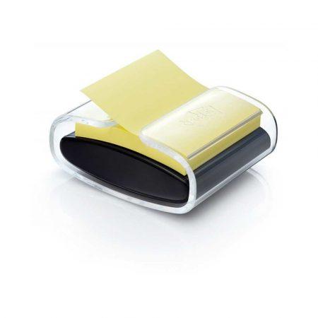 podajniki do taśmy 4 alibiuro.pl Podajnik do bloczków samoprzylepnych POST IT Pro PRO B 1SSCY R330 czarny w zestawie 1 bloczek Super Sticky Z Notes 95