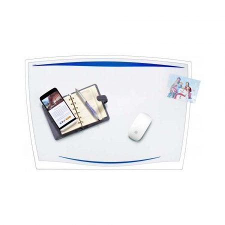 podkładka pod mysz 4 alibiuro.pl Podkładka na biurko CEP Ice 65 6x44 8cm transparentna niebieska 22