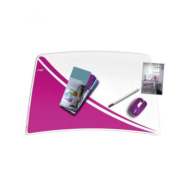 podkładki ergonomiczne 4 alibiuro.pl Podkładka na biurko CEPPro Gloss różowa 87