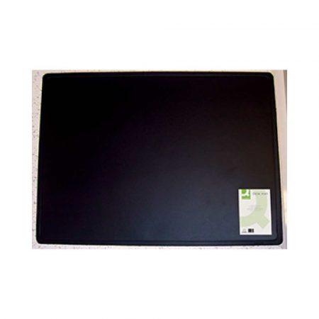 podkładki ergonomiczne 4 alibiuro.pl Podkładka na biurko Q CONNECT 63x50cm czarna 24