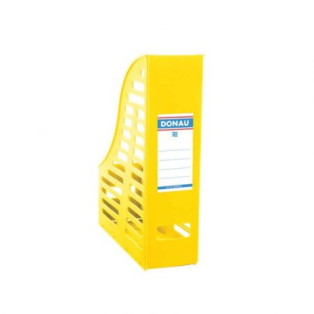 pojemnik na dokumenty 4 alibiuro.pl Pojemnik ażurowy na dokumenty DONAU PP A4 składany żółty 18