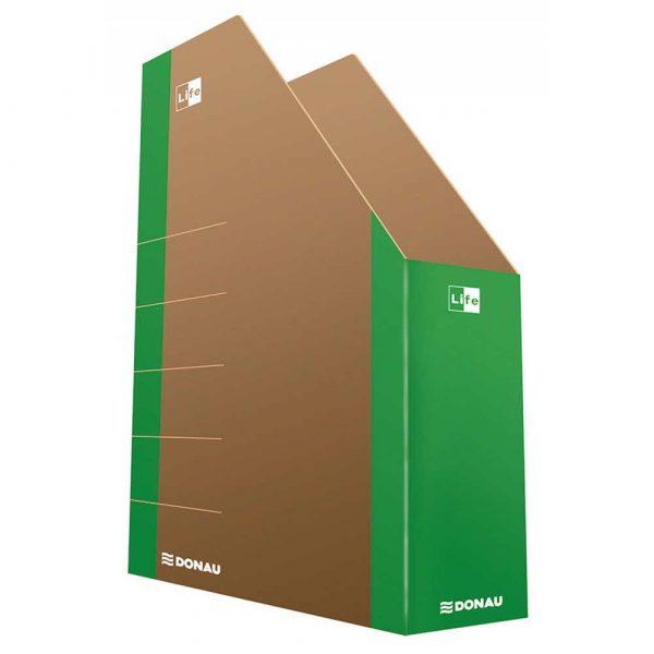 pojemnik na dokumenty 4 alibiuro.pl Pojemnik na dokumenty DONAU Life karton A4 zielony 1