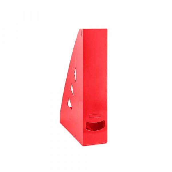 pojemnik na dokumenty 4 alibiuro.pl Pojemnik na dokumenty OFFICE PRODUCTS ażurowy A4 czerwony 74