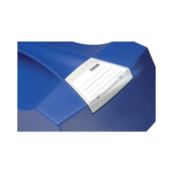 pojemnik na dokumenty 4 alibiuro.pl Pojemnik na teczki zawieszkowe HAN Swing Plus polistyren A4 z wiekiem niebieski 94